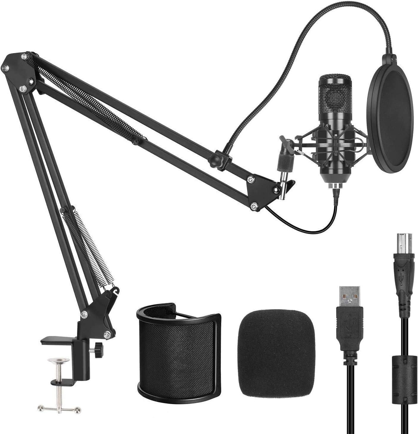 Cheap bargain Pop Filter Studio USB Condenser Sale price Microphone Computer Recording