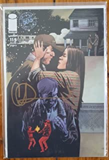 The Walking Dead (2013 Image Comics) Issue #115 Cover B - Year 1 Shane & Lori Grimes Near Mint+ Signed by Artist Charlie Adlard with Certificate of Authenticity (COA)