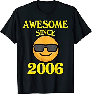 Awesome Since 2006 13th Years Old 13 Birthday Gift T-Shirt