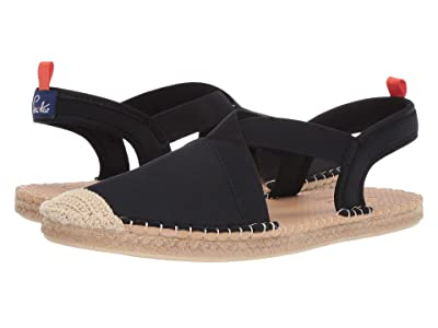 Sea Star Beachwear Seafarer Slingback Water Shoe (Black) Women