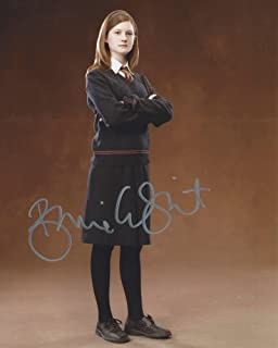 Harry Potter Signed Autographed Bonnie Wright as Ginny Weasley 8x10 Photo
