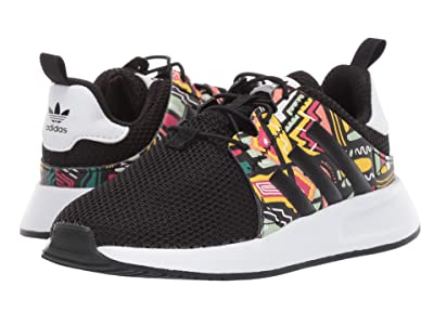 adidas Originals Kids X_PLR EL I (Toddler) (Black/Print/White) Kids Shoes