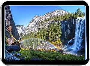 Lantern Press The Rainbow at Vernal Falls Waterfall in Yosemite National Park, California A-9008104 (Keepsake Tin)