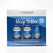 Tisserand Aromatherapy - 3 Step Ritual to Sleep Better