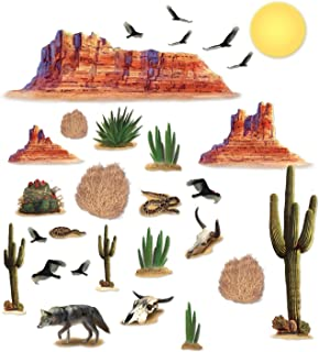 desert themed party decorations