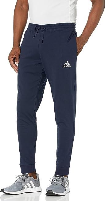 adidas Men's Essentials Single Jersey Tapered Cuff Pants