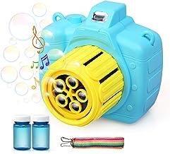 LEADSTAR Maquina de Burbujas, Máquina de Burbujas Automática niños soplador de Burbujas para Fiestas Incluye Botella de solución, los Mejores Juguetes y Regalos para Niños y Niñas