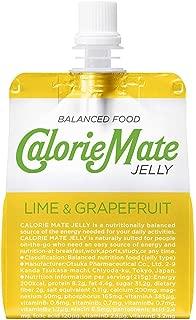 大塚製薬 カロリーメイト ゼリーライム&グレープフルーツ味 215gパウチ×24本入 2ケース