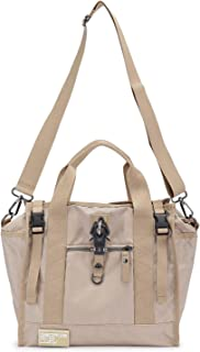 George Gina & Lucy Re-Nylon Show Ping Hand Bag Beige Jiing