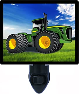Childrens Night Light, Tractor, Construction Tractor