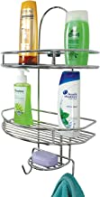 MOCHEN Premium Extra Strong Bathroom and Kitchen Wall Hanging Storage Shelves (Chrome Plated)