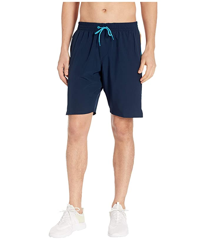 Nike 9 Retro Stripe Lap Volley Shorts (Obsidian) Men