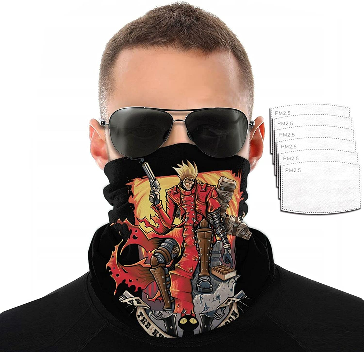 Anime Bombing free shipping Trigun VASH The Stampede Variety 3D Sc Printing Towel Detroit Mall Face
