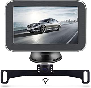 $99 » Wireless Backup Camera, Backup Camera, LASTBUS Rear View Camera 5 Inch Monitor and Waterproof Night Vision Reversing Camer...