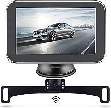 $79 » Wireless Backup Camera, Backup Camera, LASTBUS Rear View Camera 5 Inch Monitor and Waterproof Night Vision Reversing Camer...
