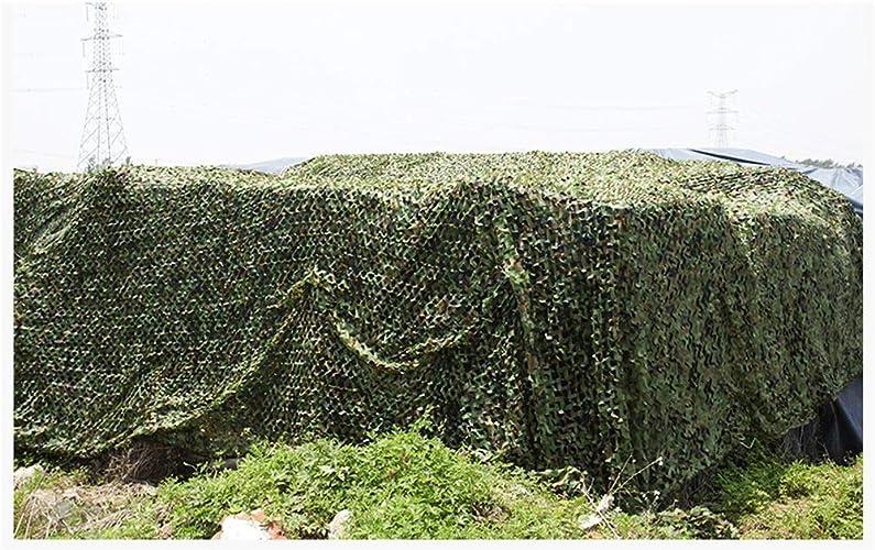 Bache,Filet de camouflage Filet de camouflage extérieur de camouflage, filet de camouflage de parasol de camping de jungle, filet de décoration double personnalité de filet net décoratif, pour le camp