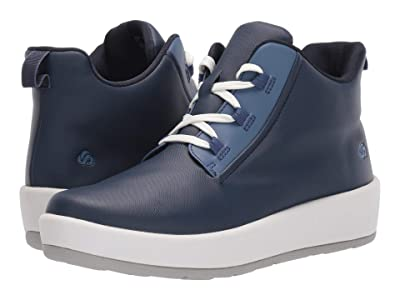 Clarks Step North Mid (Navy Synthetic) Women