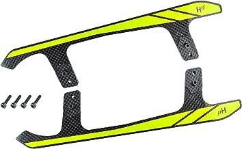 Microheli Carbon Fiber Landing Skids A Style (Yellow) - Blade Fusion 480