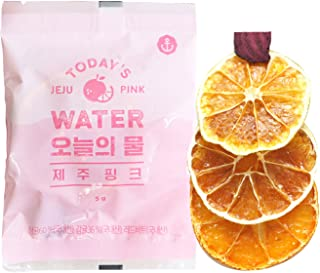 Dano Dried Tangerine Detox Tea from Jeju island, 100% Tangerine, Red Beet, Unsweetened, Reducing Bloating, Boost Metabolism, Single Serve Bag tea, 0.2 Ounce (10 bags)