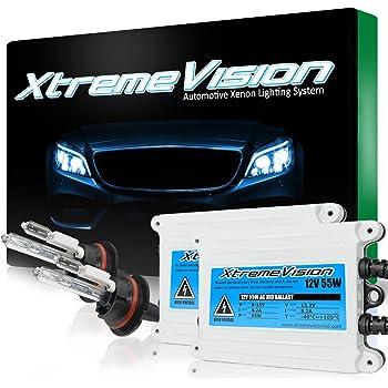 XtremeVision 35W Xenon HID Lights with Premium Slim Ballast 12K Purple 2 Year Warranty H1 12000K