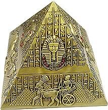 Rubbish Bin Ashtray Set Egyptian retro creative pyramid with Ashtray lid sealed fashion ashtray home decoration منفضة سجائر