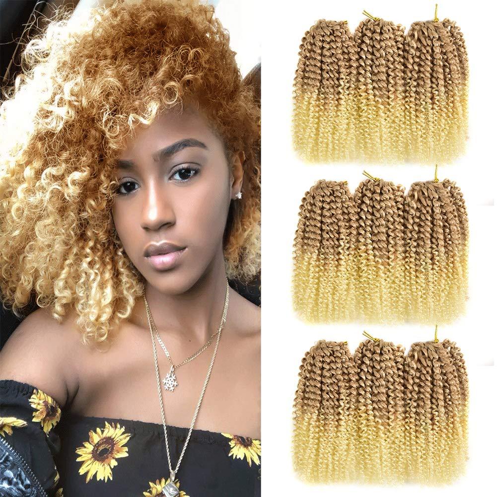 Superlatite 9Bundles Marlybob Crochet Hair 8Inch Ultra-Cheap Deals Twist Short Afro Passion Ki