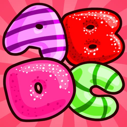 Alphabet Candies : Alphabets learning app for Preschool kids