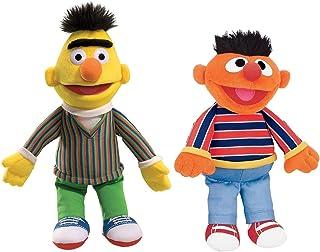 GUND Sesame Street Plush Animal Duo Pack, Bert/Ernie 14 inch