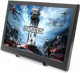 cocopar®11.6インチ 16:9 HDMI/最大解像度1920X1080を支持PS3/PS4/xbox360/oneゲームに適用するハイビジョン モニター パソコンディスプレイ Raspberry Pi ラズベリーパイに適応できる 携帯型ディスプレ Windows 7 8 10(本体重量636g, 厚さ 15mm)
