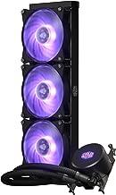 Cooler Master Masterliquid ML360 RGB Thread Ripper TR4 Edition Close-Loop CPU Liquid Cooler, 360mm Radiator, Dual Chamber RGB Pump, Triple MF120R Fans w/ RGB Lighting Sync