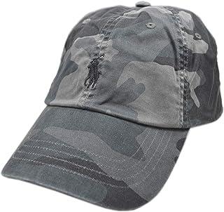 قبعة Polo Ralph Lauren للرجال من Polo Horse Dad قبعة بيسبول رمادية مموهة