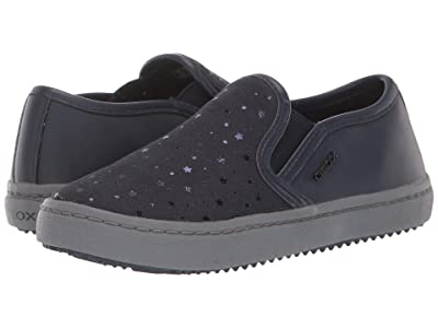 Geox Kids Jr Kalispera 25 (Little Kid) (Navy) Girls Shoes