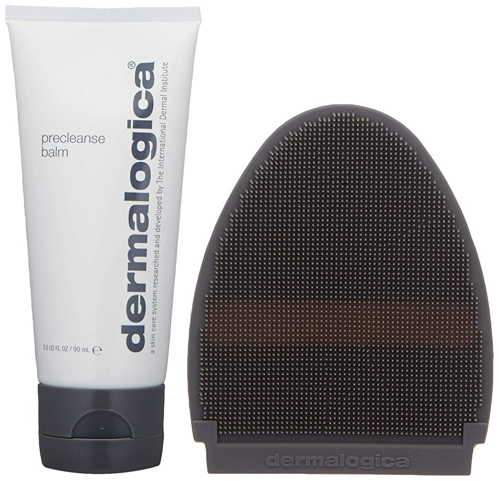 花束足枷ロゴダーマロジカ Precleanse Balm (with Cleansing Mitt) - For Normal to Dry Skin 90ml/3oz並行輸入品