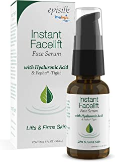 Hyalogic Episilk Instant Facelift Serum, 1 Ounce