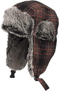 Manhattan Trapper Casual Ushanka Trooper Pilot Aviator Soft Faux Fur Hat Men and Women