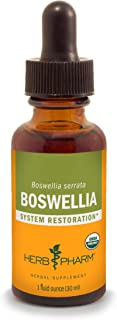 Herb Pharm Certified Organic Boswellia Liquid Extract for Joint Support, 1 Fl Oz