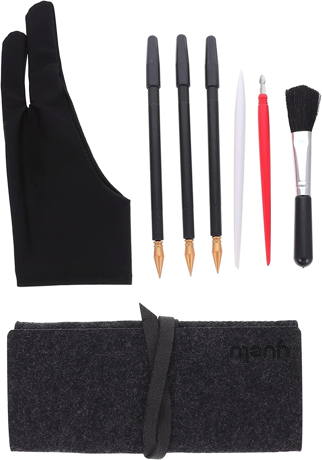Limited Special Price Wakauto 8pcs Today's only Scratching Painting Tools Paint Scratch Include Set