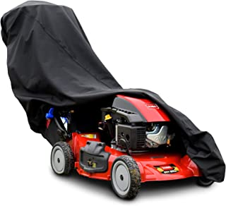 Budge TPLM1 Lawn Mower Cover, Black