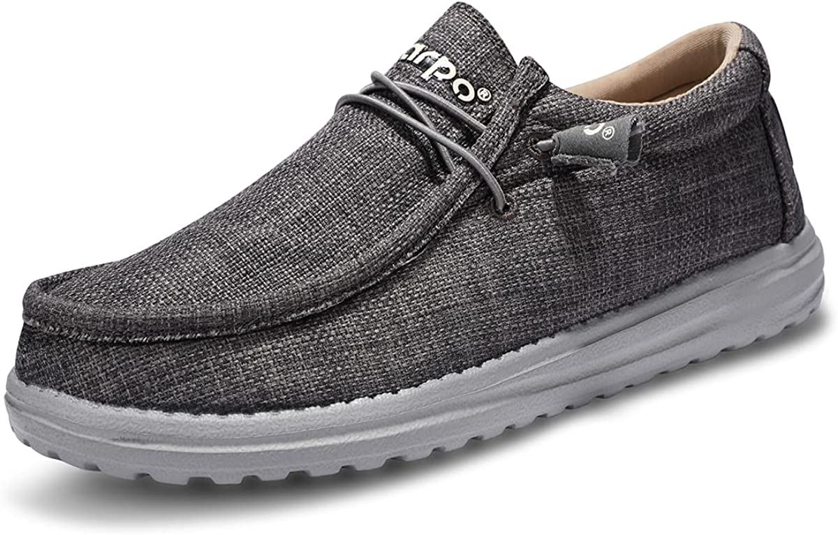 incarop Casual Canvas Shoes for Men C Slip Sales results No. 1 Loafers Deck On OFFicial site