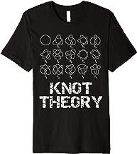 Sheldon Nerdy Knot Theory Math Physics Teacher Gift Premium T-Shirt