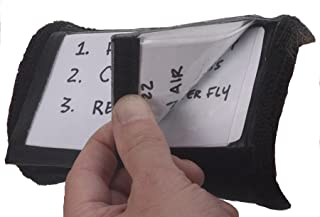 Markwort Three Window Play Card Holder Wristband 黑色 青少年