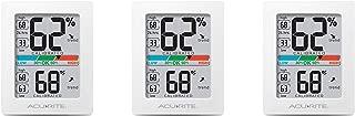 AcuRite 01083 Pro Accuracy Indoor Temperature and Humidity Monitor, Original Version3-Pack