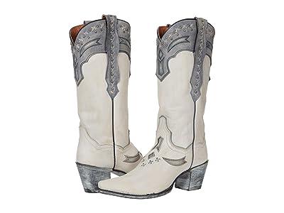 Dan Post Shiver (White Leather) Women