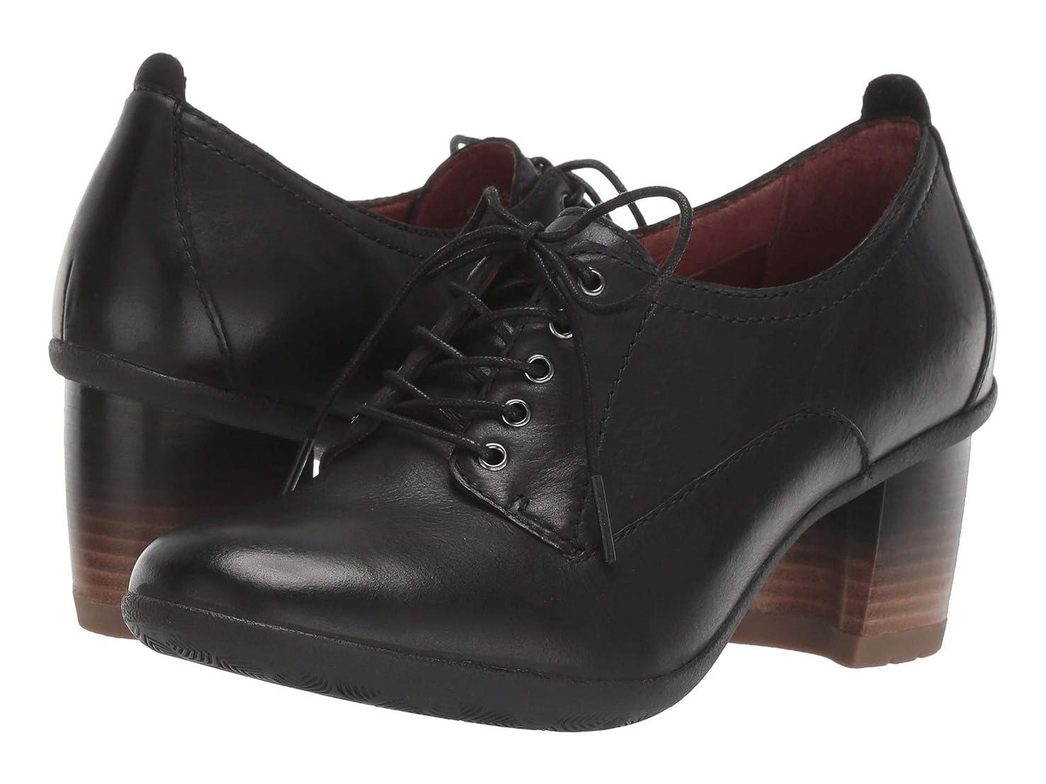 イタリアの最少人事レディースレースアップ?オックスフォード?靴 Pennie Black Waterproof Burnished 42 (US Women's 11.5-12) (26-26.5cm) Regular [並行輸入品]