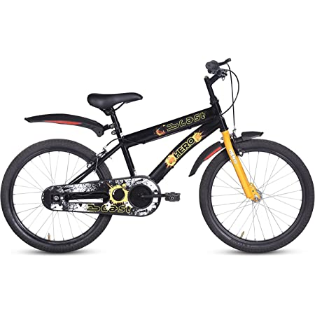 Hero Blast 20T Single Speed Kids' Bike (Multicolour, Ideal For : 7 to 9 Years ), Frame size: 12 Inches