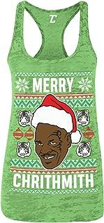 Merry Chrithmith - Tyson Funny Xmas Christmas Women's Racerback Tank Top
