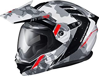 Scorpion EXO-AT950 Helmet - Outrigger (Large) (White/Grey)