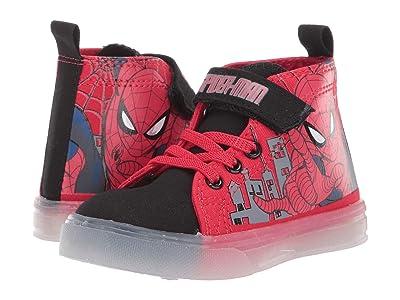 Favorite Characters Spider-Mantm Hi-Top SPF730 (Toddler/Little Kid) (Red) Boy