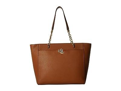 LAUREN Ralph Lauren Elmswood Langdon 30 Tote (Lauren Tan) Handbags