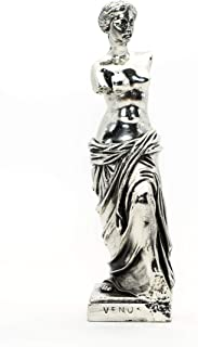 Helcee Handmade Silver Plated Venus de Milo Statue 9 in